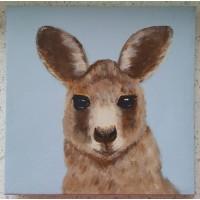 Di Joyner Kangaroo Canvas