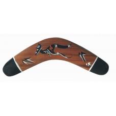 Black Tip Boomerang