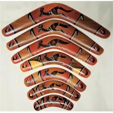Orange Tip Boomerang
