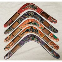 Australia's best Aboriginal returning boomerang | Coatarang Design | left or right handed throwing | 18 inches wide