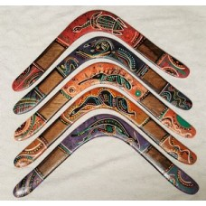 Family pack of 3 coatarang  returning boomerangs